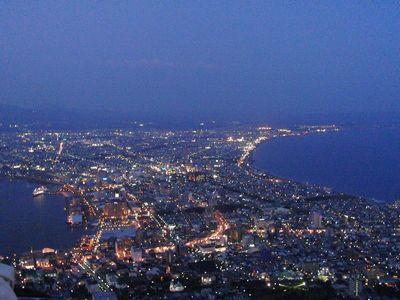 函館山の夜景